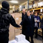 Nicolas Sarkozy fête Noël avant l'heure