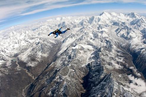 J'ai sauté au-dessus de l'Everest