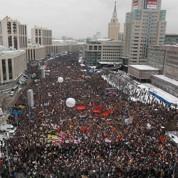 Nouvelle manifestation massive à Moscou