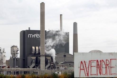Le groupe finlandais M-Real a mis en vente en mai cette usine de 330 salariés. Depuis trois ans, 100.000 emplois industriels ont été détruits.