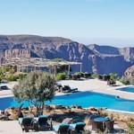 L'hôtel Sahab, dans le désert d'Oman.