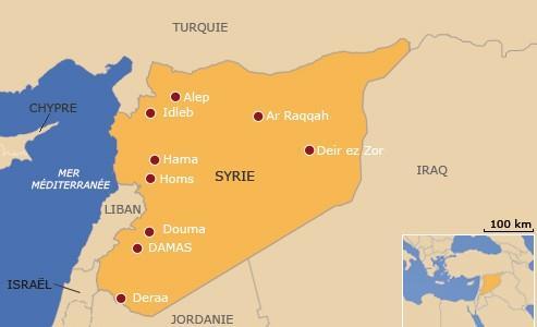 Les observateurs vont visiter Deraa, Hama, Idleb et se déployer autour de Damas, la capitale.