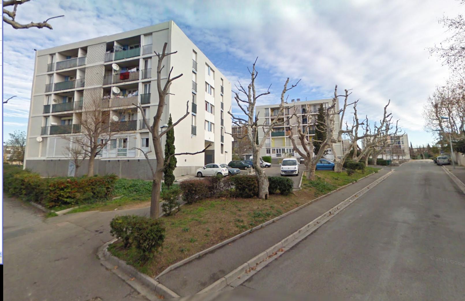 La cité de la Visitation, dans les quartiers nord de Marseille, où se déroulait le trafic décrit dans le carnet retrouvé sur place.