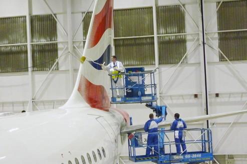 Pour économiser, British Airways repeint ses avions