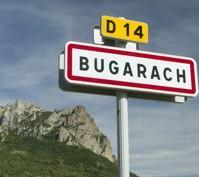 Bugarach, dans les Corbières.