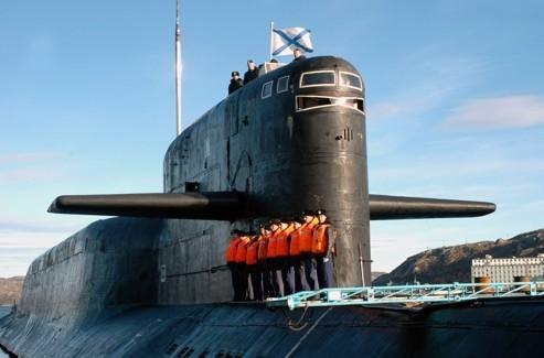 Le sous-marin K-84 Ekaterinbourg. (Photo d'archives)