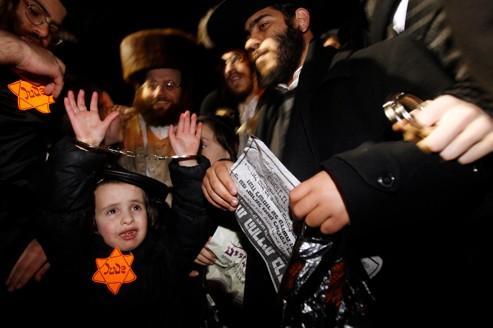 Une manifestation de Juifs ultraorthodoxes choque Israël