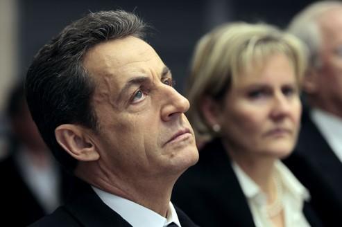 Nicolas Sarkozy (en visite à Metz dimanche) a toujours nié son implication dans l'affaire Karachi.