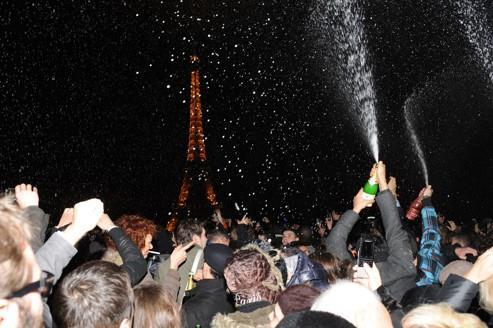Le champagne affiche des chiffres record en 2011