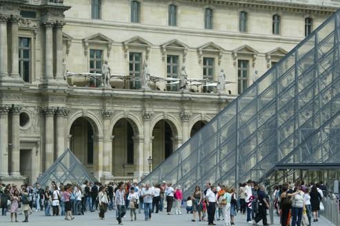 Records de fréquentation au Louvre et au Centre Pompidou