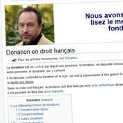 20 millions de dollars de dons pour Wikipedia