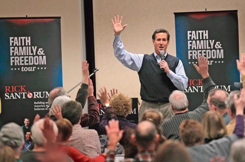 La droite chrétienne montre sa force en Iowa