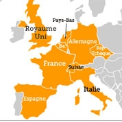 PIP : de nombreux pays concernés