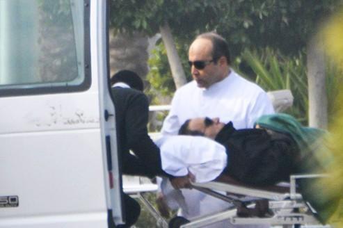 Violent réquisitoire contre Hosni Moubarak