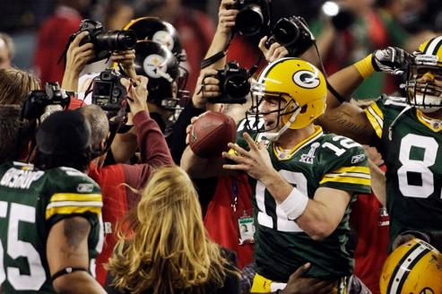 111 millions de téléspectateurs ont regardé en 2011 le triomphe des Packers de Green Bay.