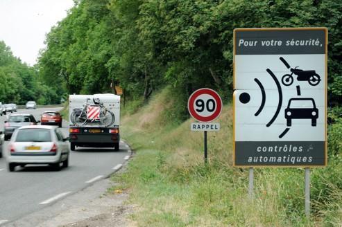 Les radars ont rapporté 630 millions d'euros en 2011