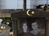 Le cimetière de Thias a été l'un des premiers à se doter de carrés musulmans.