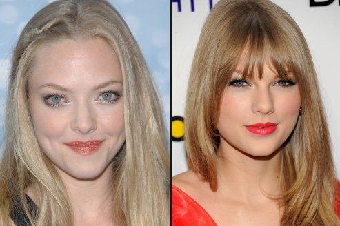 Amanda Seyfried et Taylor Swift dans Les Misérables