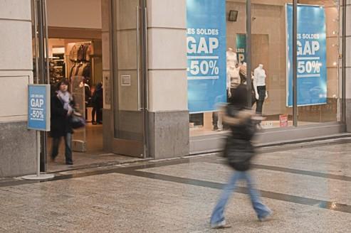 L'américain Gap peine à décoller à l'international