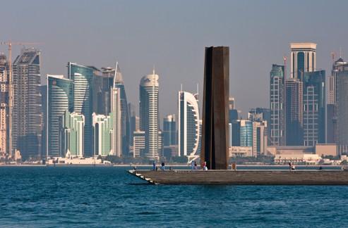 Serra, un solitaire au Qatar