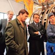 Air France : le nouveau PDG visite ses salariés