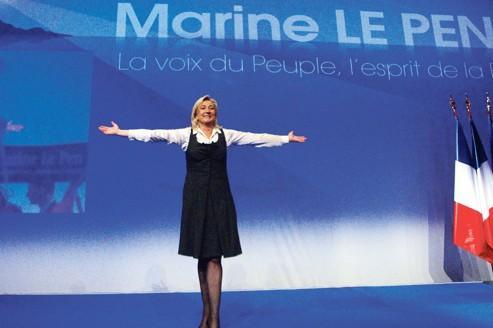 Marine Le Pen reprend le thème du protectionnisme