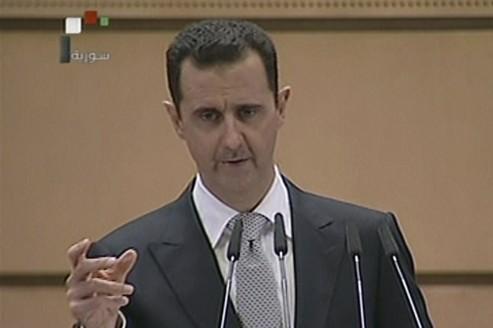 Assad annonce un référendum constitutionnel en Syrie