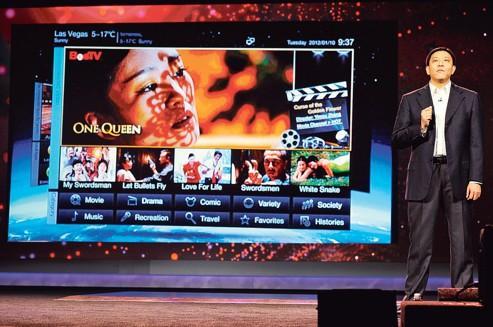 Lenovo se lance dans la TV connectée