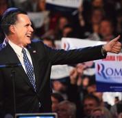 Les concurrents de Romney à la peine