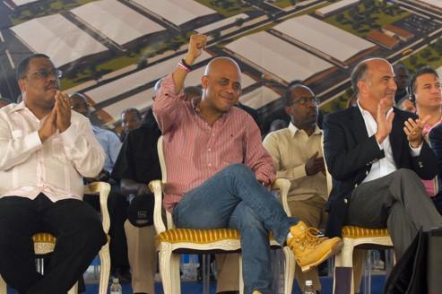 Le président haïtien n'a pas mis sa politique en musique
