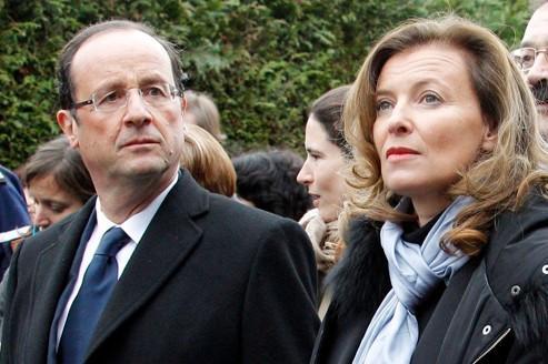 Valérie Trierweiler s'affirme dans la campagne de Hollande
