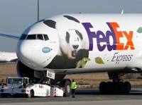 Le «Panda Express», affrété par FedEx.