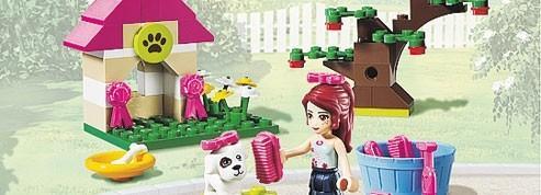 Playmobil et Lego se disputent<br/>les petites filles<br/>
