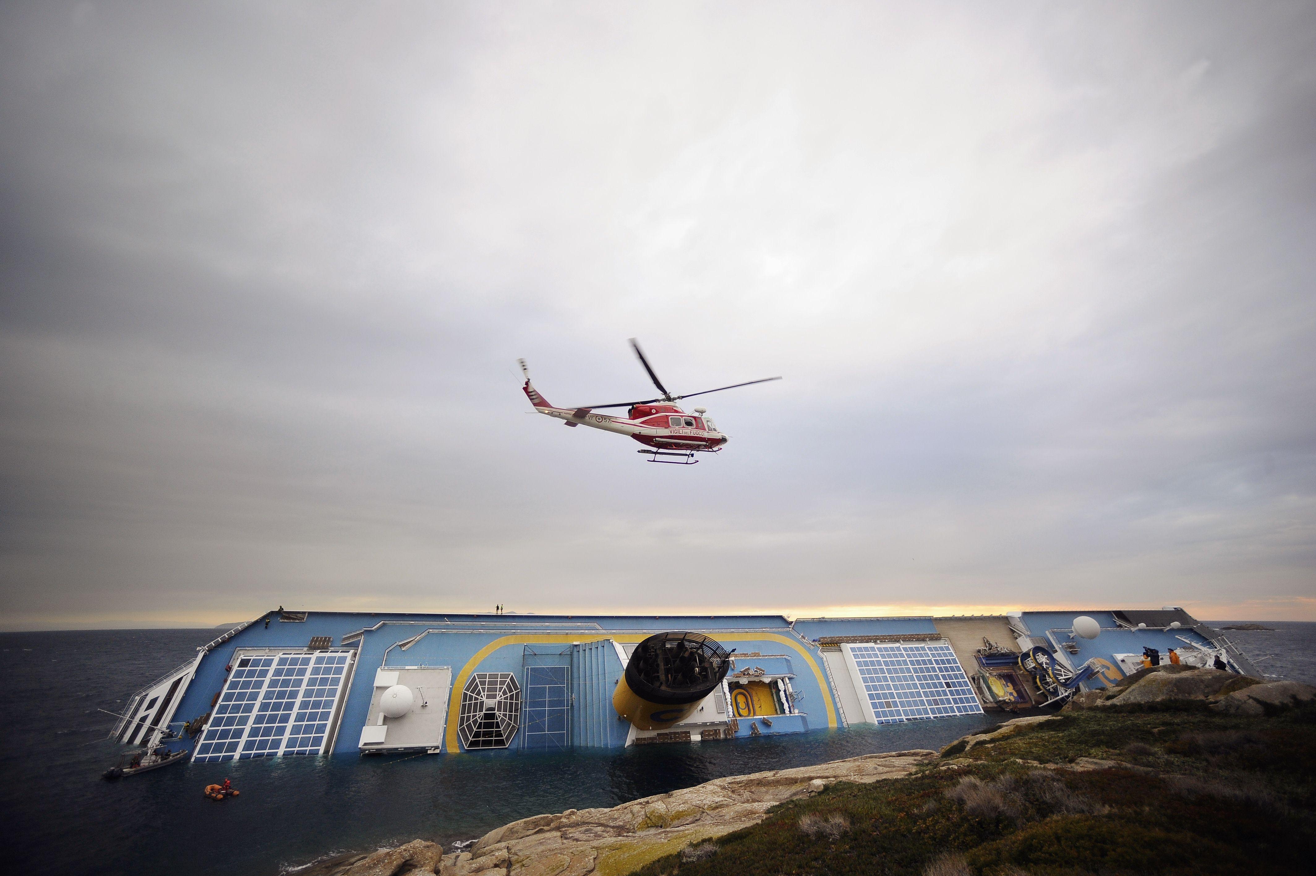 Naufrage du Concordia : un désastre écologique redouté