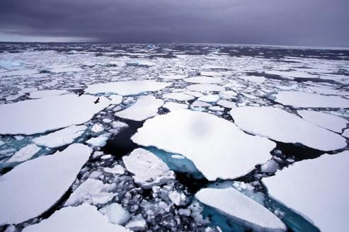 Las mediciones de temperatura en el Ártico muestran un fuerte calentamiento de julio a septiembre.