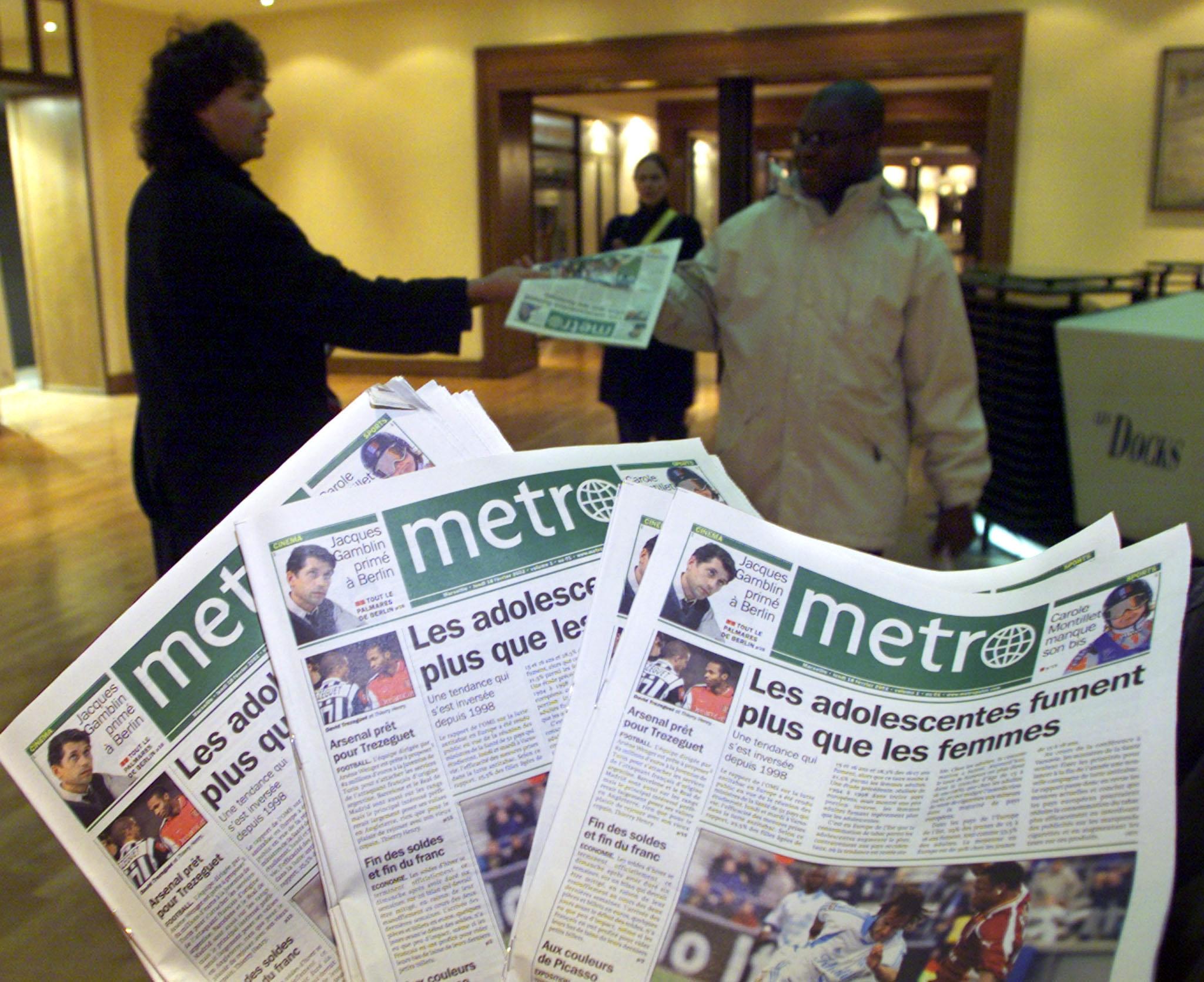 Le gratuit Metro se rénove pour ses dix ans