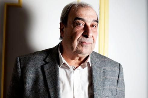 L'opposant Michel Kilo, mardi, à son domicile parisien.