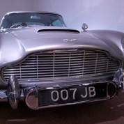 Les bolides de 007 exposés