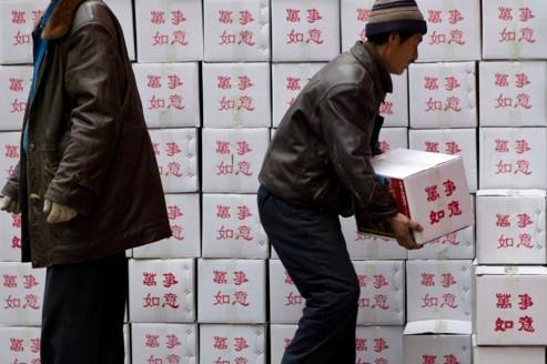 La croissance chinoise marque le pas