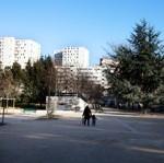 Le square des Amandiers.