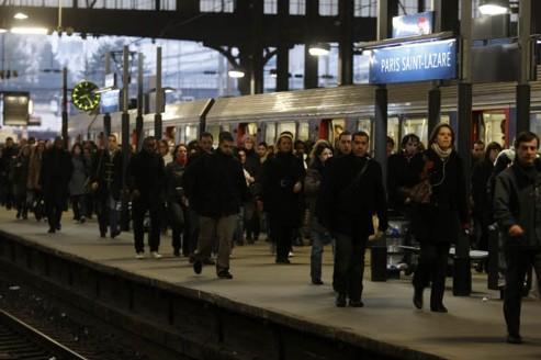 Les nouveaux horaires de train sont entrés en vigueur le 11 décembre dernier. Crédit : Jean-Christophe Marmara/Le Figaro