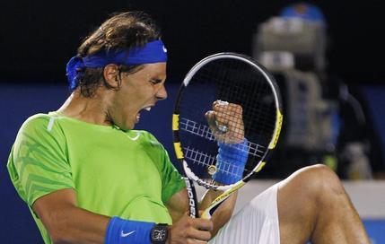 Rafael Nadal a dû s'arracher pour battre Tomas Berdych