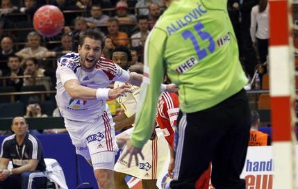 Guillaume Gille échoue face au gardien croate Alilovic
