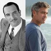Dujardin, Clooney: le match des Oscars