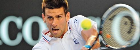 Novak Djokovic préside le dernier carré de l'Open d'Australie