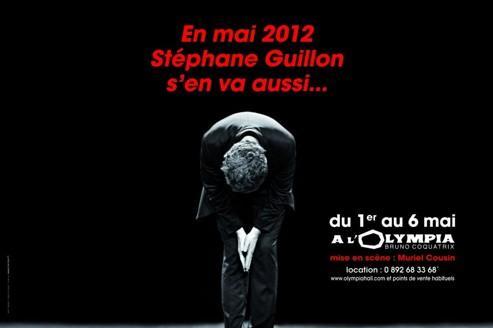 Stéphane Guillon privé d'affichage dans le métro
