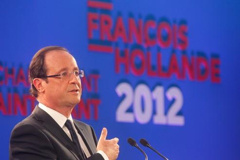 Hollande renvoie le centre à droite