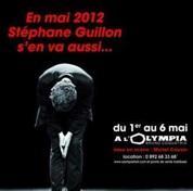 Stéphane Guillon affiché par Decaux