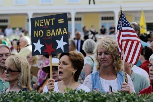 Gingrich réveille les Tea Party en Floride