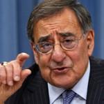 Leon Panetta à la conférence de presse de présentations des orientations budgétaires du Pentagone, le 26 janvier.